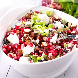 Rise Salad with Pomegranate and Walnut RisoPiù