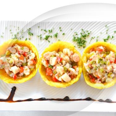 Seafood Salad with Salad Pickle