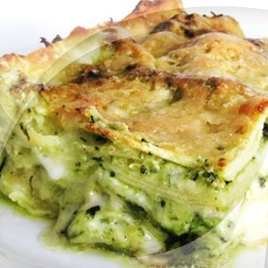 Lasagne with Pesto and Ricotta