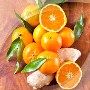 Salad with Tangerine and Ginger RisoPiù