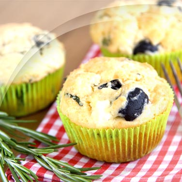 Muffins with Black Olives