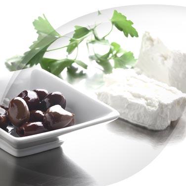 Ricotta, Olive and Ham Squares