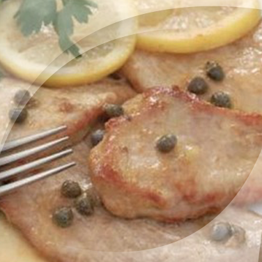 Escalopes with Capers and Anchovies