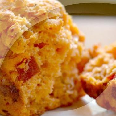 Muffin peperoni e tofu