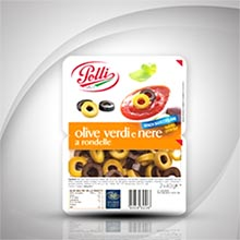 Olives Rounds Tray Polli