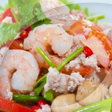 Land and Sea Salad