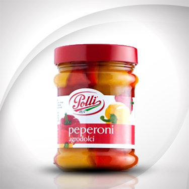Sweet-and-Sour Bell Peppers Polli