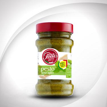 Garlic-free Basil Pesto Polli