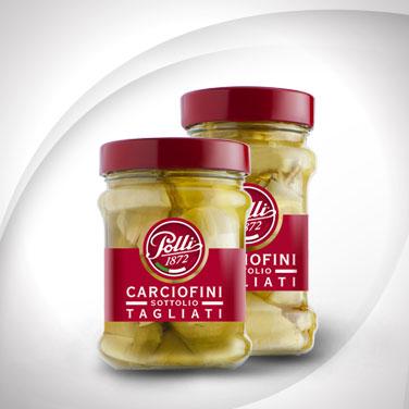 Oil Pickled Artichoke Segments Polli
