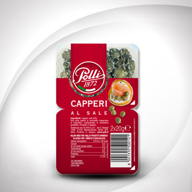 Salted Capers Polli